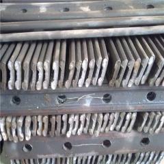 30kg道夹板铁路用道夹板鱼尾板链接矿用轨道道夹板现货直销