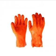 厂家直销春蕾 908抗油耐刺穿止滑工业橡胶手套劳保手套