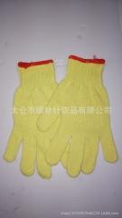 厂家直销劳保防护贴皮防割型手套 厂家生产防护防割手套批发供应