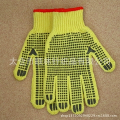 厂家直发点塑手套 保防护耐磨防滑点珠点胶手套批发