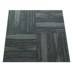 现货批发防水耐磨pvc商用地毯自粘毛坯房室内网红仿瓷砖拼接地垫