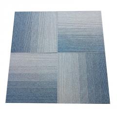 酒店公寓办公室地毯 公司会议满铺拼接地毯 商用工程方块地毯批发