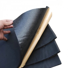 厂家供应不干胶橡塑海绵板 橡塑保温保冷板隔热材料 背胶橡塑板