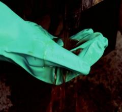 批发正品赛立特INXS18502防化学耐酸碱防滑耐磨防穿刺手套赛立特 绿色 8