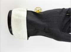 经销批发推荐赛立特INXS L18510黑色丁腈手套耐溶剂手套32cm正品 黑色 8