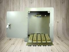 厂家直销 10对/20对明装挂墙带锁 电话分线箱 分纤箱