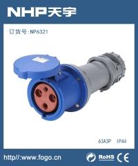 工业插头插座IP44 防水工业连接器NP6421