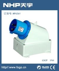工业插头插座IP44 防水工业插头NP3561