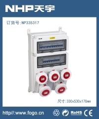 工业插头插座IP67 防水工业插座NP5542