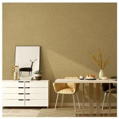 无纺布墙纸 现代客厅卧室电视背景墙装修材料 纯素色仿硅藻泥壁纸