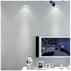 无缝蚕丝墙布纯色素色卧室欧式壁布工程无纺布壁纸电视背景墙装饰