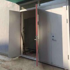 厂家供应学校用钢质室内防火平开门 防盗甲级乙级防火消防门