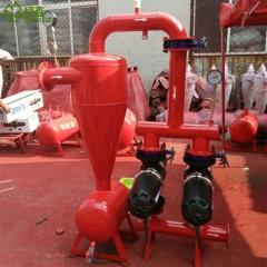 农田节水灌溉器材 离心过滤器套装组合 各种型号各种组合钢制离心