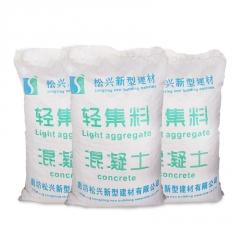 松兴厂家直销轻集料 轻集料混凝土 建筑轻质保温垫层 LC5.0轻集料