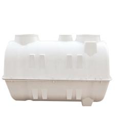 玻璃钢化粪池 改造厕所 模压化粪池桶 1.5立方家用农村三格化粪池