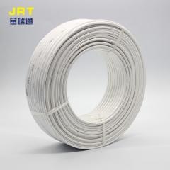 厂家批发国标BLVVB 6平方双芯铝护套线白色家用电线电缆电源线