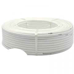国标BLVVB6平方双芯铝护套线 白色家用电线电缆电源线 铝芯电缆线