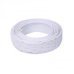 厂标双芯铝护套线 白色家用电线电缆电源线 家装两芯电线