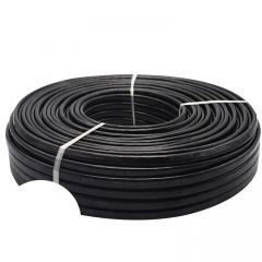 电线电缆 国标BLVVB2x10平方铝电缆线 100米/500米黑色铝芯护套线