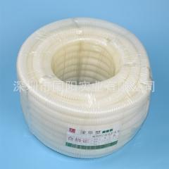 深华塑阻燃PVC电线护套管 PVC波纹管软管 厂家批发 25mm