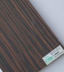 冠华精选 EV黑檀弯纹饰面板 科技木装饰面板3.0mm 1220*2440*3.0mm