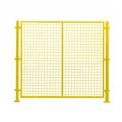 【车间隔离网】定制低碳钢丝车间隔离网移动车间隔离栅栏设备防护