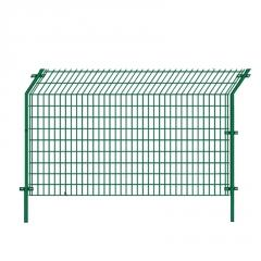 【双边丝护栏网】 高速公路隔离铁丝护栏网浸塑钢丝双边丝护栏网