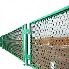 【防眩网】定制菱形孔高速公路防眩网 公路隔离桥梁框架栏防眩网