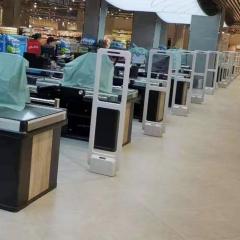厂家直销超市防盗门商场服装箱包化妆品防盗器声磁报警安检门禁