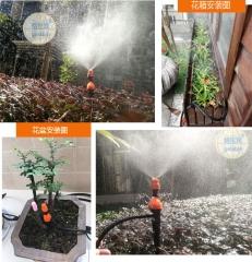批发雨水感应自动定时浇水浇花器  菜地盆栽喷淋设备灌溉控制器