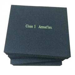 福乐斯阻燃b1级橡塑板 复合铝箔防火橡塑板 阻燃隔音橡塑保温板