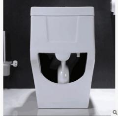 新款仿智能马桶 坐厕卫浴 超旋式陶瓷座便器 厂家批发 贴牌 1-4