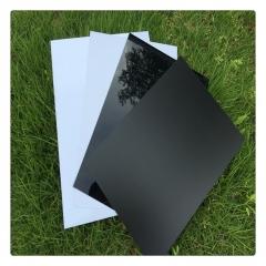 黑色亮面哑面PVC硬片阻燃PVC片聚氯乙烯0.3/0.4/0.5/0.8/1/1.5/2m