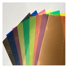 透明PVC聚氯乙烯薄片塑料硬板PVC透明硬片 彩色PVC片 磨砂PVC胶片