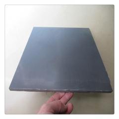 全新料PVC聚氯乙烯板 灰色PVC实心硬板 阻燃板 防腐蚀PVC板3-60mm
