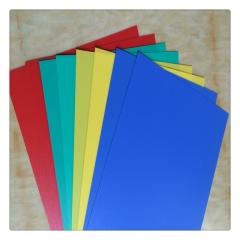PP聚丙烯吸塑片 食品级PP胶片彩色磨砂面PP片 PP塑料片材切割加工