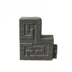 中式仿古瓦配件装饰博古正吻古建门头装饰品室内墙头搭配装饰瓦片