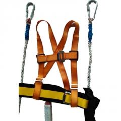 双背涤纶安全带 高空作业防坠落安全带 欧盟CE认证厂价供应