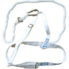 华泰牌坠茖悬挂式双背安全带 高空作业安全带 LA认证