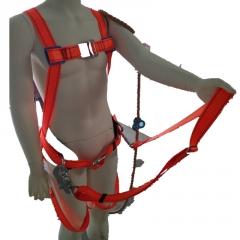 华泰涤纶五点式围杆作业安全带(配大护腰)LA认证
