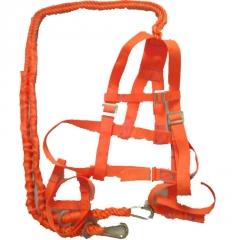 高空作业安全带.高空防坠落双绳双钩安全带厂家供应