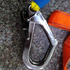 五点式单绳大钩安全带 高空作业防坠落安全带 欧盟CE认证