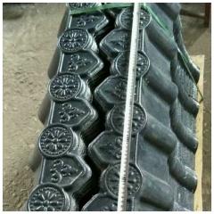 合成树脂瓦材料滴水檐仿古挂件彩钢堵头造型装饰 仿古屋檐