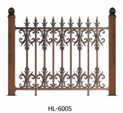 美观大方铁艺组装式阳台护栏 铁艺栏杆围 栏隔离防撞河道防护栏