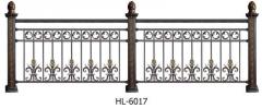 美观大方铁艺栏杆围栏铁艺护栏 铁艺栏杆围墙 隔离防撞河道防护栏