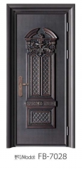 批发 高档欧式室内门 豪华别墅铜铝门 商品楼专用门防盗门