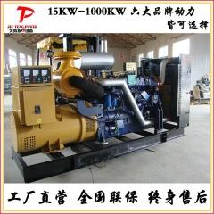 250kw柴油发电机组 供应低噪声柴油发电机组 潍柴发电机设备