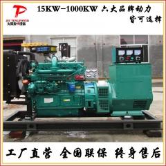 潍柴50kw柴油发电机组 小型无刷柴油发电机50千瓦 全自动三相电