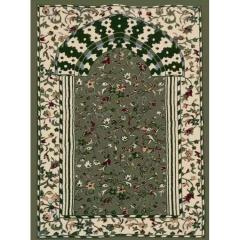 厂家定制便携式穆斯林礼拜毯 伊斯兰朝拜毯 机织丙纶清真寺祷告毯