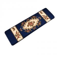 家用楼梯踏步垫欧式实木楼梯地毯藏青色地垫免胶自粘防滑脚踏垫子